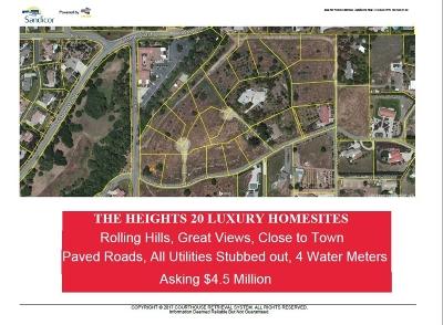 Fallbrook Residential Lots & Land For Sale: 001-020 Camino De Nog #1-20