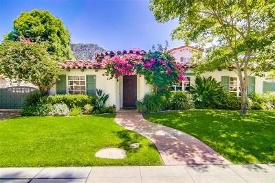 Coronado Single Family Home For Sale: 711 Margarita Ave
