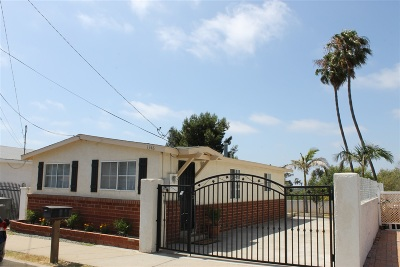Oceanside Single Family Home For Sale: 1346 Marquette St