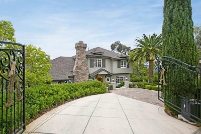 Del Mar CA Single Family Home For Sale: $2,285,000
