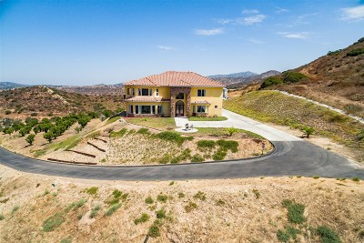 Single Family Home For Sale: 15708 Sycamore Canyon Rd