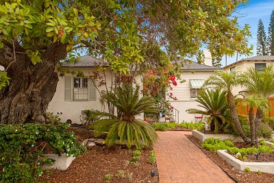 North Park, North Park - San Diego, North Park Bordering South Park, North Park, Kenningston, North Park/City Heights Single Family Home For Sale: 2629 Bancroft