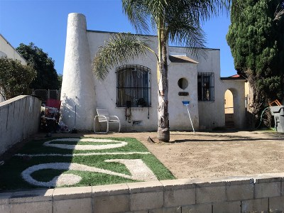 San Diego Single Family Home For Sale: 3528 Ocean View Blvd.