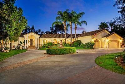 Vista Single Family Home For Sale: 510 Paseo Del Bosque