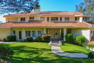Poway Single Family Home For Sale: 12960 Glen Circle Rd