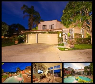 Del Mar CA Single Family Home For Sale: $1,799,000