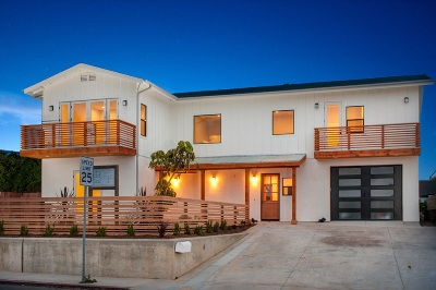 Cardiff By The Sea CA Single Family Home For Sale: $1,999,000