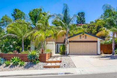 Del Cerro, Del Cerro Heights, Del Cerro Highlands, Del Cerro Terrace Single Family Home For Sale: 8250 Hillandale Dr