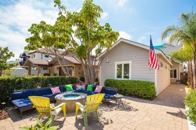 Coronado Single Family Home For Sale: 816 H Avenue