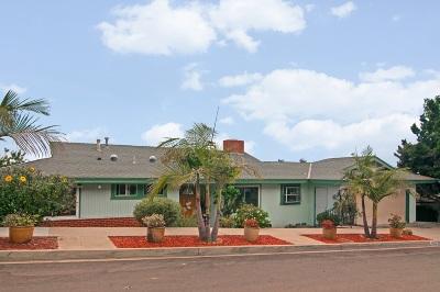 Del Cerro, Del Cerro Heights, Del Cerro Highlands, Del Cerro Terrace Single Family Home For Sale: 6625 Hillgrove Dr