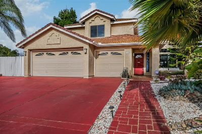 Vista Single Family Home For Sale: 1228 Sunny Crest Cir