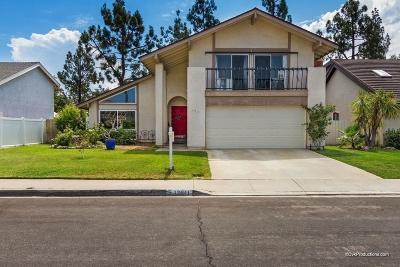 Single Family Home For Sale: 17511 Hada Drive