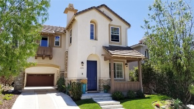 San Marcos Single Family Home For Sale: 1159 Calistoga Way