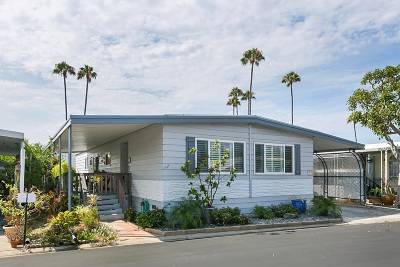 Carlsbad CA Mobile/Manufactured For Sale: $185,000