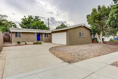 Del Cerro, Del Cerro Heights, Del Cerro Highlands, Del Cerro Terrace Single Family Home For Sale: 5530 Waring Rd