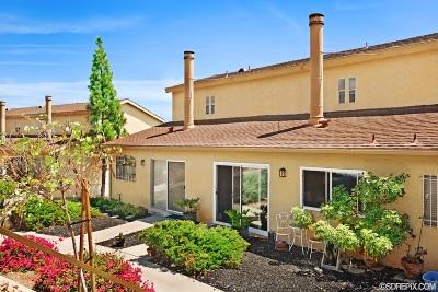 La Mesa Townhouse For Sale