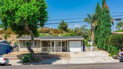 Oceanside Single Family Home For Sale: 2843 Emerald Dr