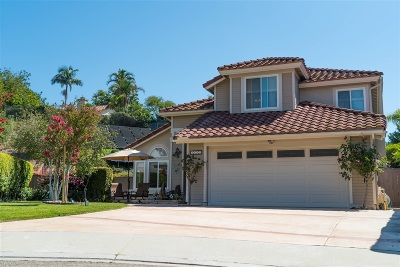 Escondido Single Family Home For Sale: 2112 Singingwood Place