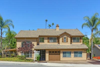 Escondido Single Family Home For Sale: 2054 Vintage Pl.
