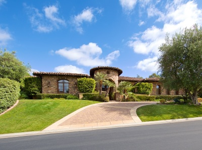 Rancho Santa Fe Single Family Home For Sale: 18463 Calle La Serra