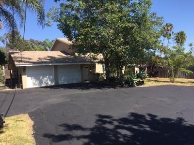 Vista Single Family Home Back On Market: 1046 Buena Vista Dr