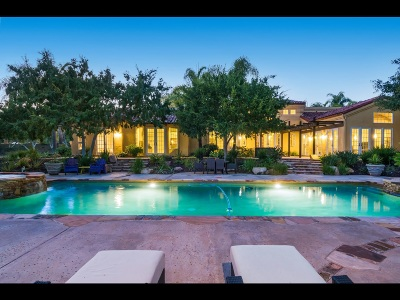 Rancho Santa Fe Single Family Home For Sale: 14955 Rancho Santa Fe Farms Road