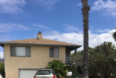 Encinitas Single Family Home Contingent: 436 Alviso