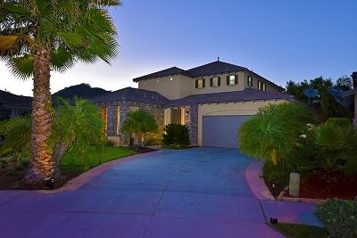Escondido Single Family Home For Sale: 2923 Oro Blanco Cir