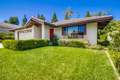 Vista Single Family Home For Sale: 1202 Countrywood Ln