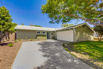 Clairemont, Clairemont East, Clairemont Mesa, Clairemont Mesa East Single Family Home For Sale: 4940 Mount Harris Dr