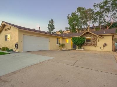 Poway Single Family Home For Sale: 13529 Frame