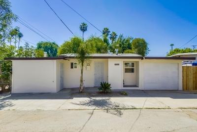 Escondido Single Family Home For Sale: 752 W 8th #1