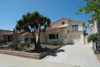 Pacific Beach Single Family Home For Sale: 1854 Missouri