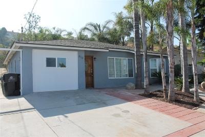 Vista Single Family Home For Sale: 345 Cananea St.
