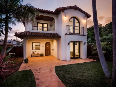 La Jolla Single Family Home For Sale: 5554 Taft