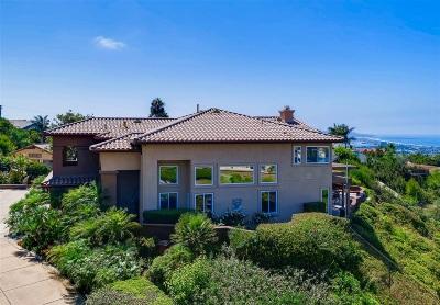 La Jolla Single Family Home For Sale: 5453 Cardeno Drive
