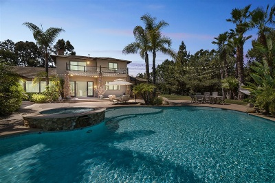 Encinitas Single Family Home For Sale: 3410 Adams Run