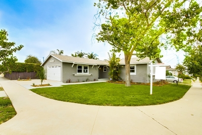 San Diego Single Family Home For Sale: 4183 Taos Drive