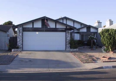 San Diego Single Family Home For Sale: 7808 Backer Rd.
