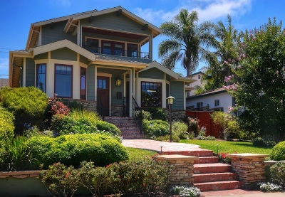 Ocean Beach, Ocean Beach/Point Loma, Ocean Obeach Single Family Home For Sale: 4445 Niagara Avenue