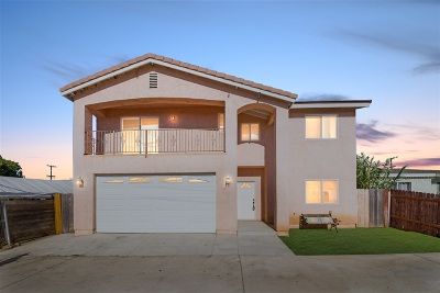 Imperial Beach Single Family Home For Sale