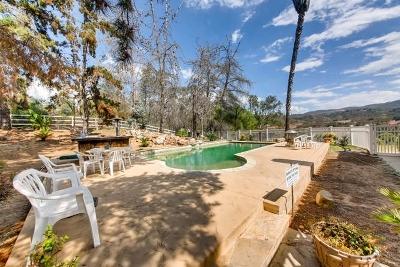 Escondido Single Family Home For Sale: 7928 Harmony Grove Rd
