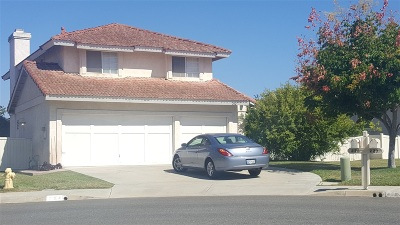 Oceanside Single Family Home For Sale: 224 Condessa Court