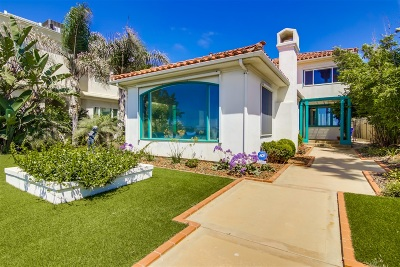 Sunset Cliffs Single Family Home For Sale: 1253 Sunset Cliffs Blvd
