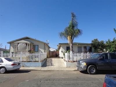San Diego Multi Family 2-4 For Sale: 4770 - 4772 Dwight Street