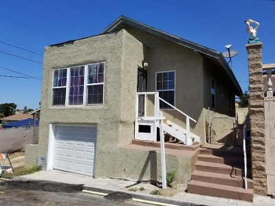 San Diego Single Family Home For Sale: 3776 Franklin Ave