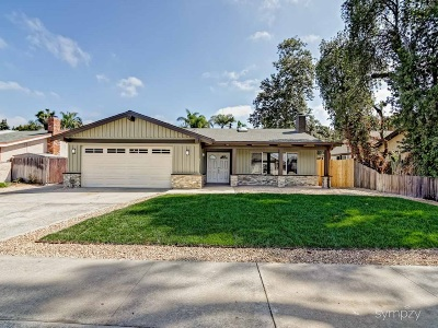 Carlsbad Single Family Home For Sale: 1736 Tamarack Ave