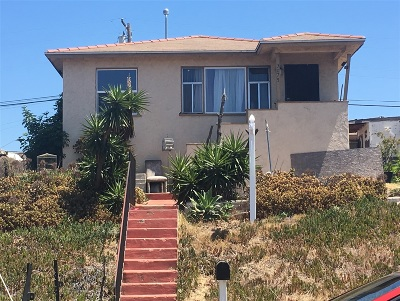 San Diego Single Family Home Contingent: 3075 38th Street