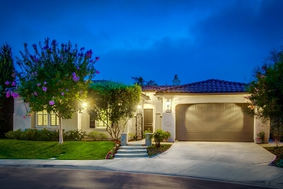 San Marcos Single Family Home For Sale: 1733 Playa Vista