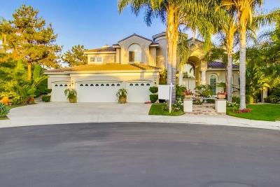 Single Family Home For Sale: 6250 Paseo Elegancia
